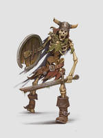 Skeleton by AndreyDenisov