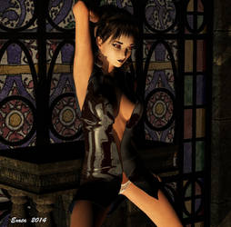 Temptation  (The eyes that mesmerise) by exata