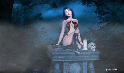 Vampirella by exata