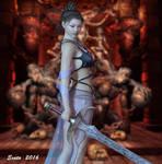 Ribbon sword style by exata