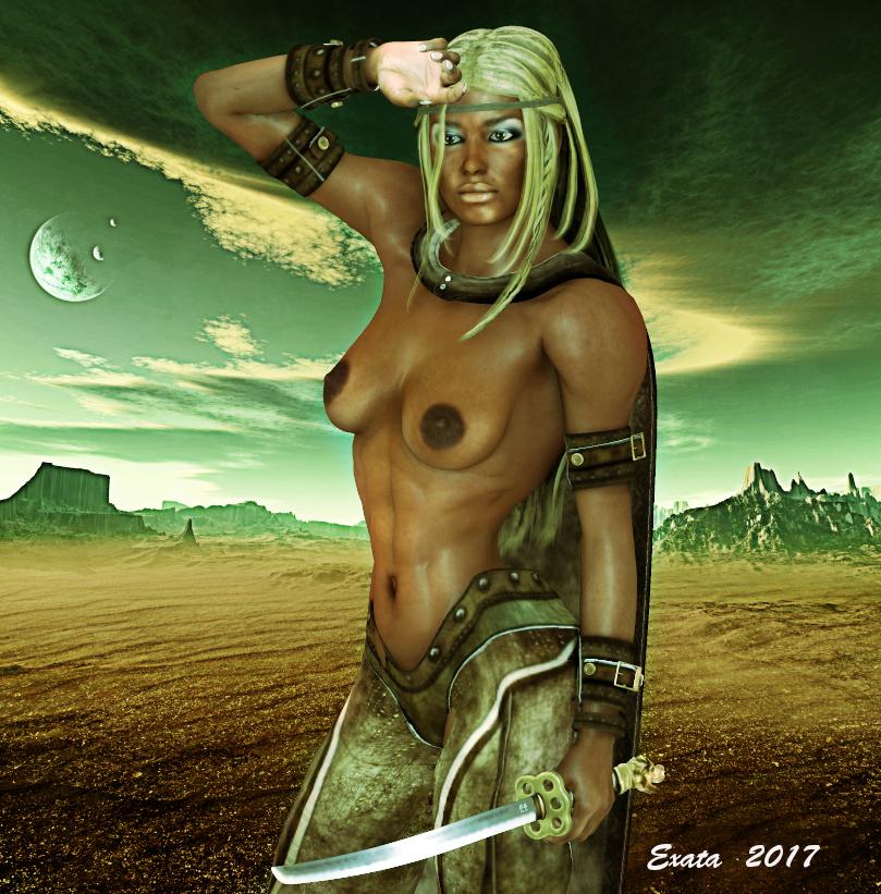 Warrior 1 by exata