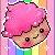 Free cupcake by AshaleyFaye