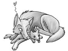 Wolfhome pose freebie by KitraxVulpes