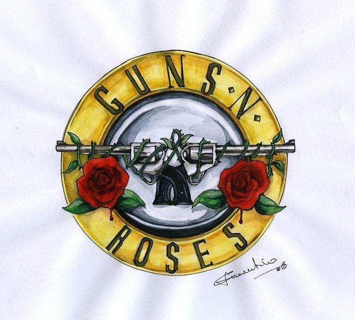 Guns N Roses Original Emblem By Crislink On Deviantart