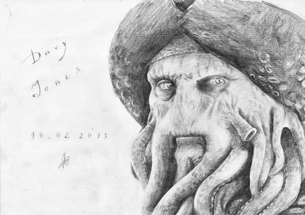 Davy Jones by BeliyLis