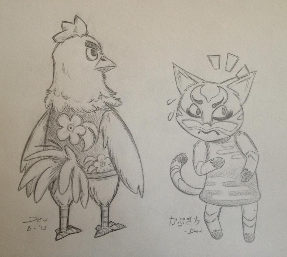 Goose + Kabuki
