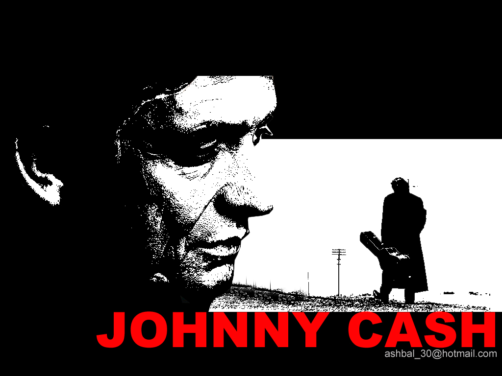 Johnny cash wallpaper 1 by ashbal on deviantart - Cash wallpaper ...