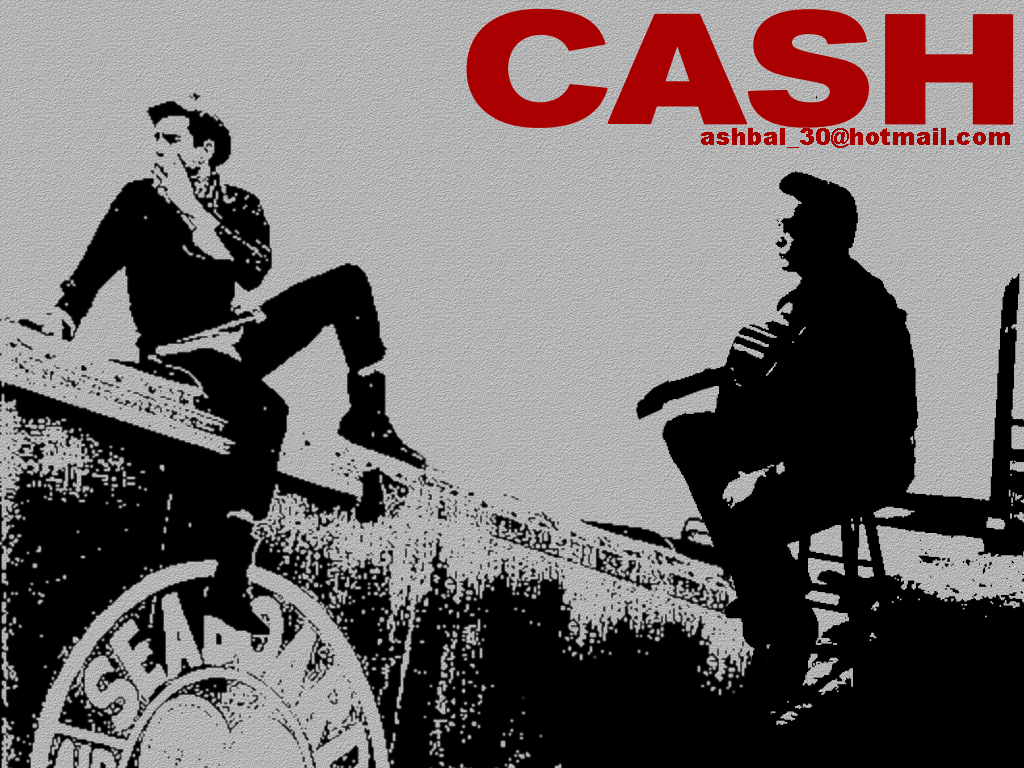 Johnny cash wallpaper 8 by ashbal on deviantart - Cash wallpaper ...