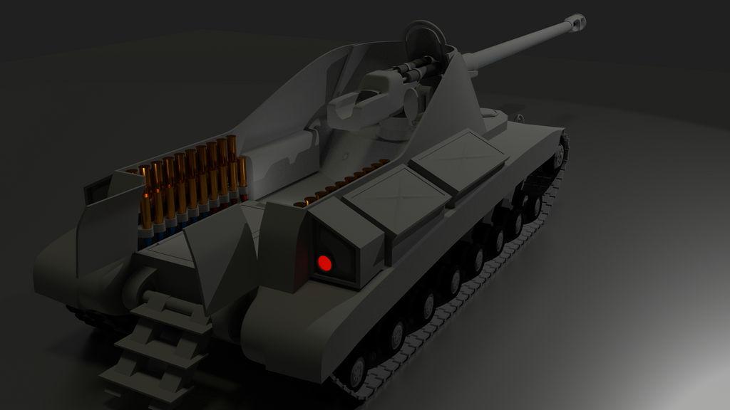 Abath Tank Destroyer - Rear