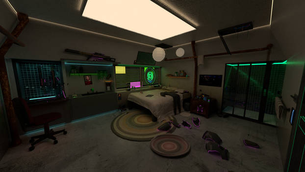 Bounty Hunter Bedroom