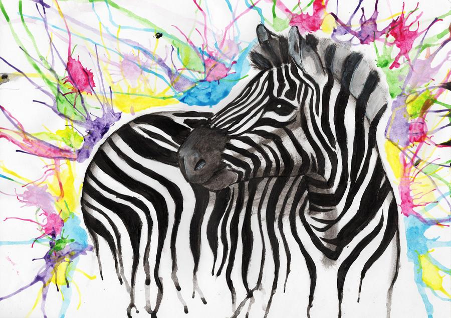 Color Zebra by Nephaddicted on DeviantArt