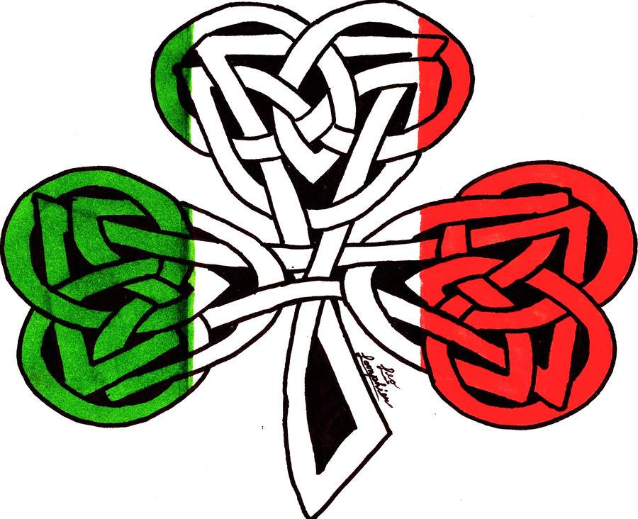 Celtic shamrock irish flag by PeAcE-88 on DeviantArt
