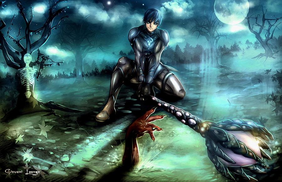 Necromancer I by Uryen