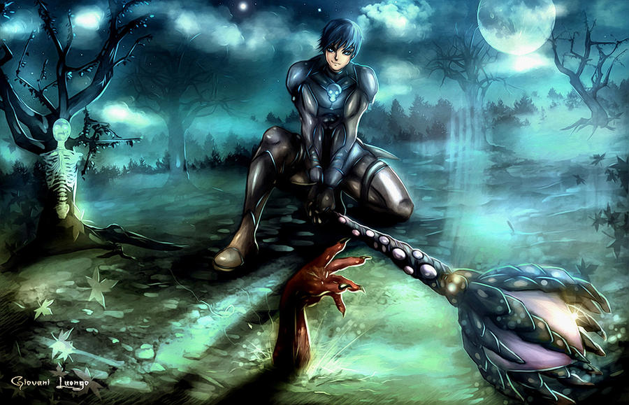 Necromancer I by Uryenn
