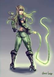 Jade from Green Elfland by FrancisLugfran