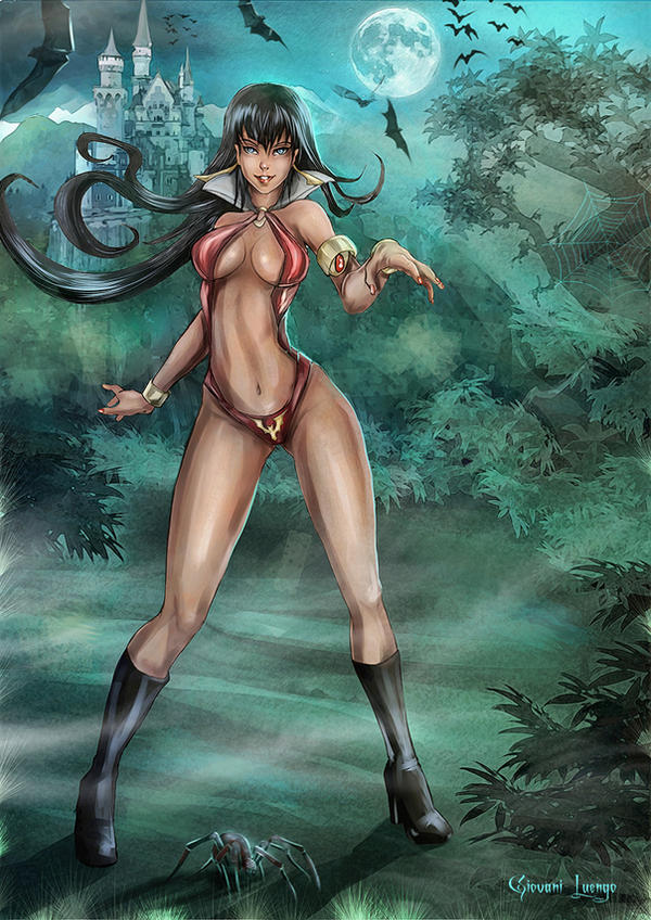 Vampirella Tribute by Uryen