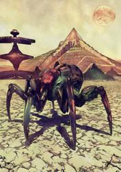 Venusian Spider by FrancisLugfran