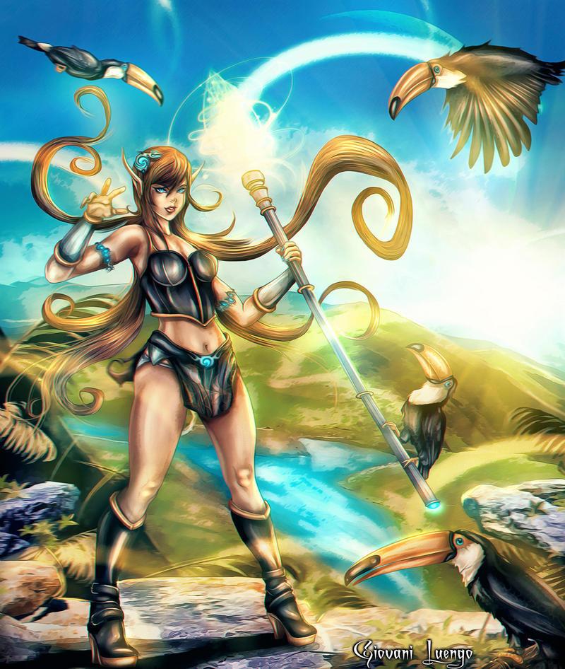 Tropical Magic by Uryen
