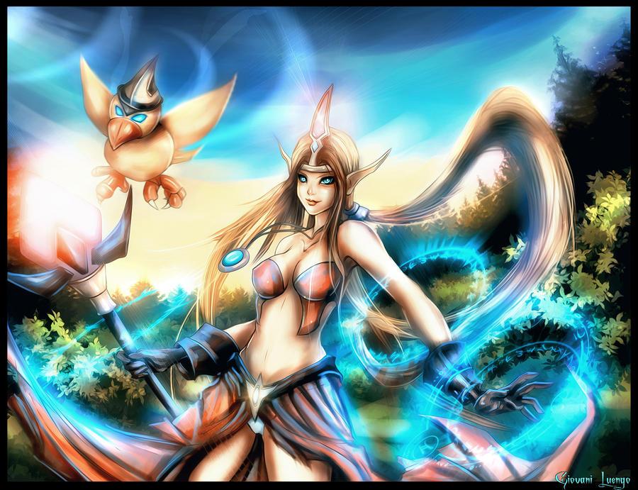 Katrina and Dodo - Sephiroth by Glluengo