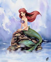 Princess Ariel by FrancisLugfran