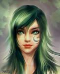 Celtic Green Lady