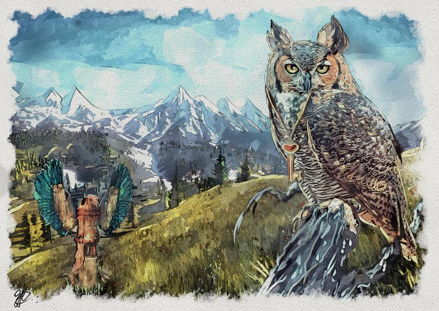 Owl Totem - Wisdom Path
