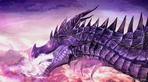 Violet Flame Dragon