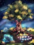 Sacred Tree and Elemental Gates