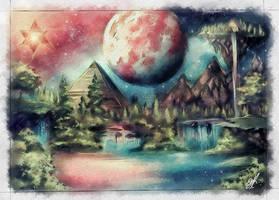 Terra II- Merkabah by FrancisLugfran