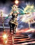 Selene - Queen of Pentacles