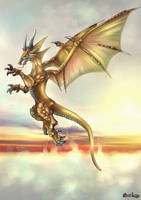 Sairys - Air Dragon - Draconian Magick by FrancisLugfran