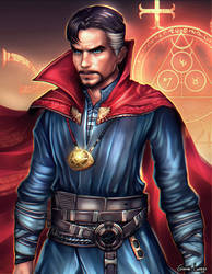 Doctor Strange by FrancisLugfran