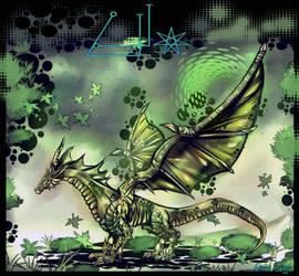 GRAEL - EARTH ELEMENTAL DRAGON by FrancisLugfran