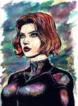 BLACK WIDOW by FrancisLugfran