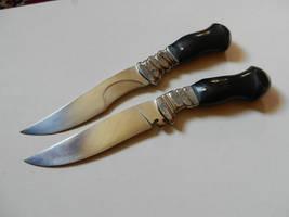 Duell Knives by dreieinhalb