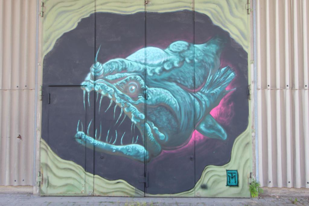 Streetart in Wuerzburg by dreieinhalb
