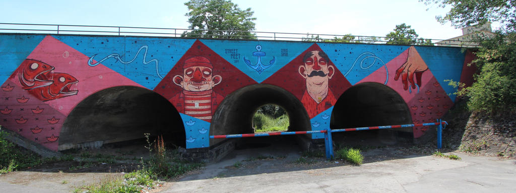 Streetart in Wuerzburg II by dreieinhalb