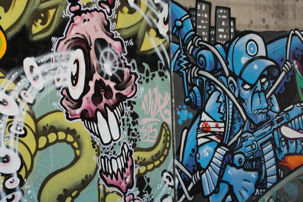 Streetart in Wuerzburg IV by dreieinhalb