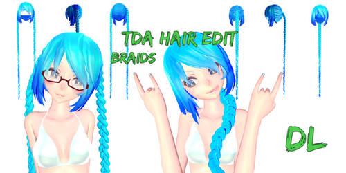 [MMD]- TDA HAIR EDIT [DL]