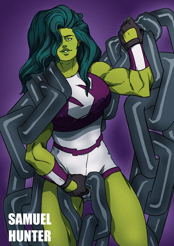 She Hulk by sknng