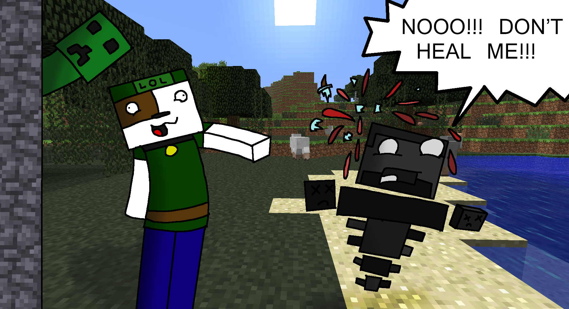 minecraft how to kill the wither in 10 seconds