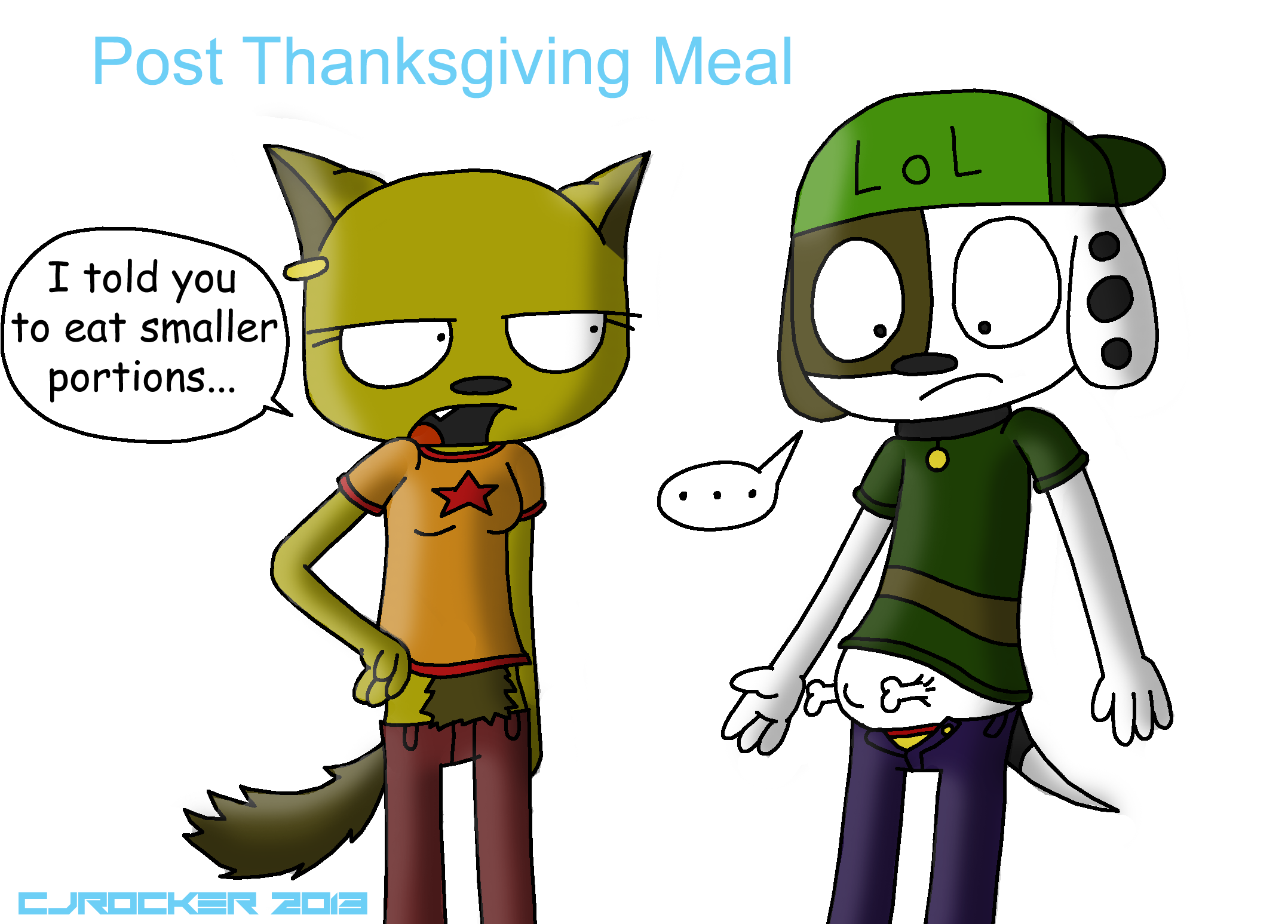 Post Thanksgiving meal by Cjrocker