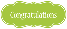 Congrats Banner by Doll-Ladi