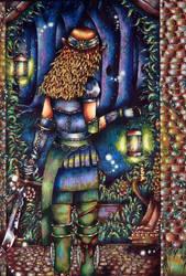 Elf Lookout by Janelle-Dimmett