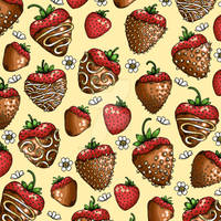Chocolate Covered Strawberry Pattern