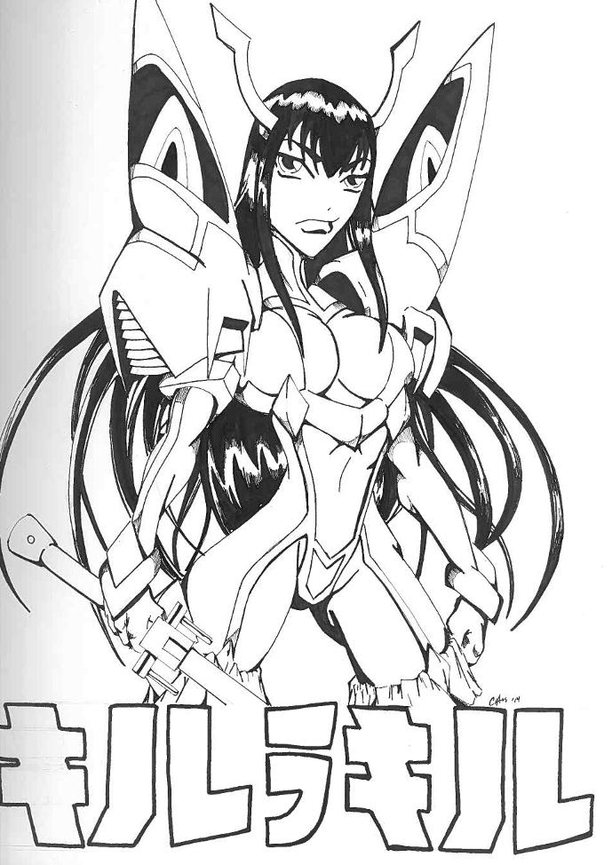 Kiryuin Satsuki by Chaosbandit