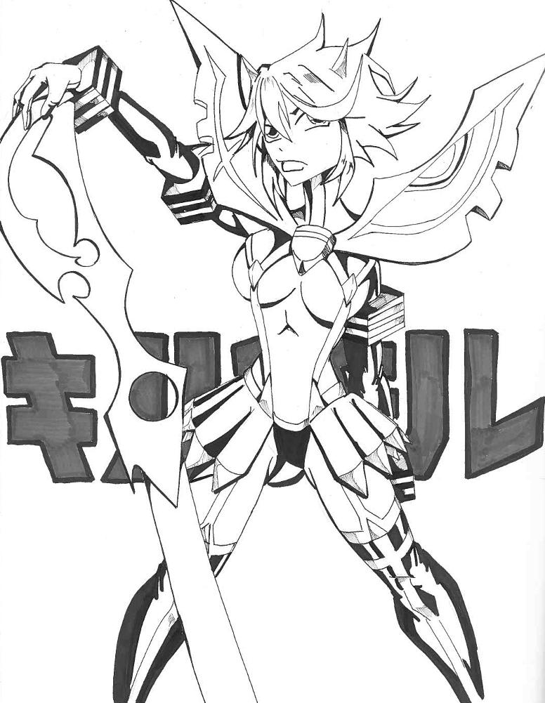 Ryuko Matoi by Chaosbandit