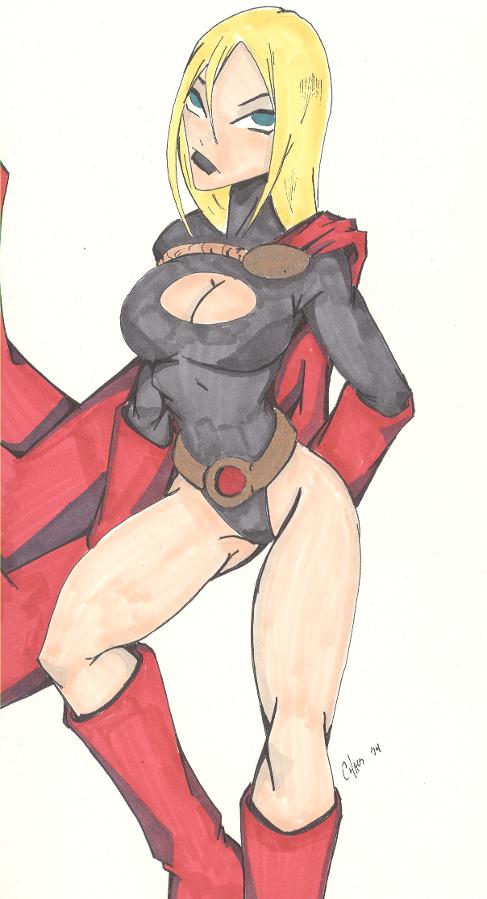 Dark Powergirl by Chaosbandit