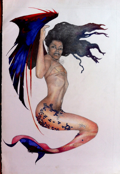 the Siren Brown.1 by MicahBlack