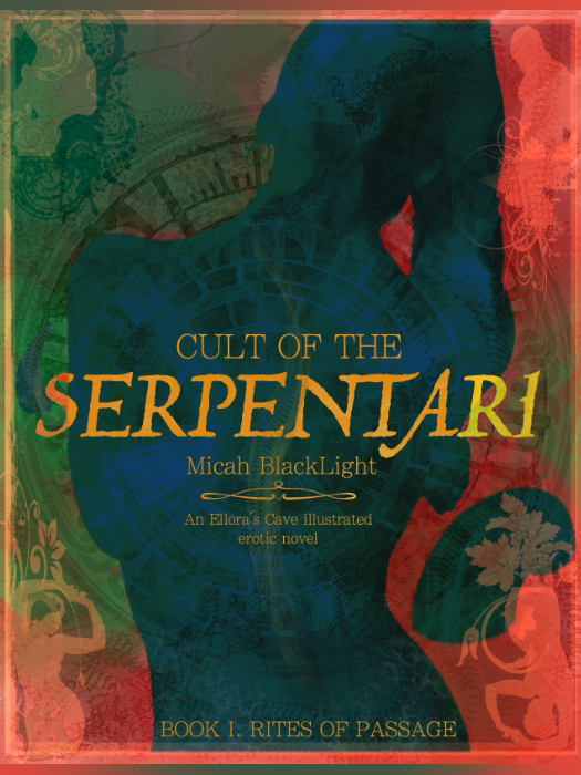 Cult of the Serpentari_Book Cover by MicahBlack